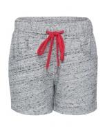 Jockey Grey Snow Melange Girls Shorts