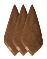 Jockey Chocolate Face Towel Pack of 3