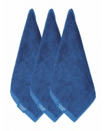 Jockey Mid Blue Face Towel Pack of 3