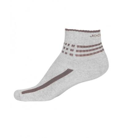 Jockey Grey Melange Men Ankle Socks