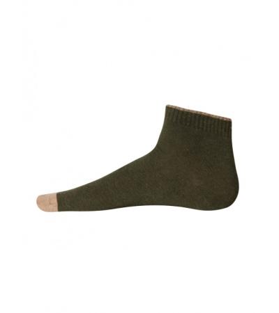 Jockey Green Melange Men Ankle Socks