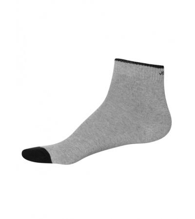 Jockey Grey Melange Men's  Ankle Socks