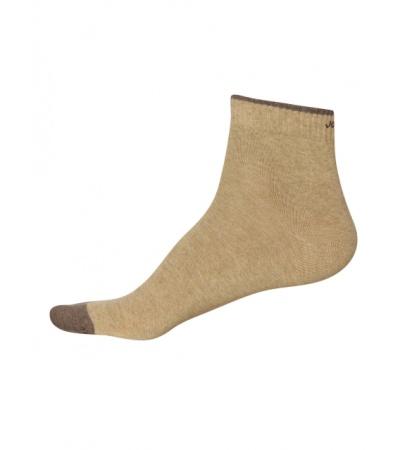 Jockey Khaki Melange Men Ankle Socks