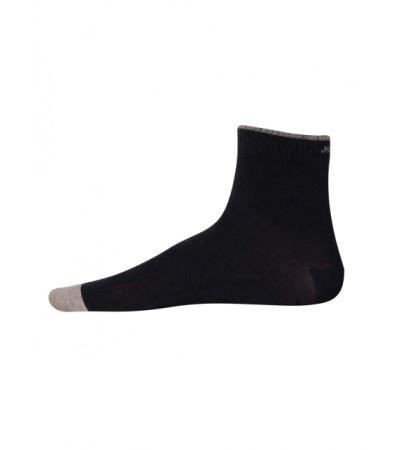 Jockey Navy Melange Men Ankle Socks