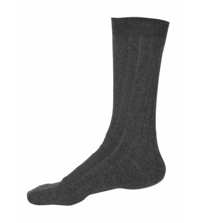 Jockey Charcoal Melange Men Casual Socks