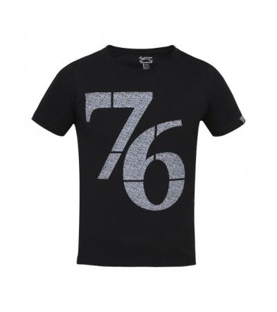 Jockey Black Print 24 Boys Printed T-Shirt