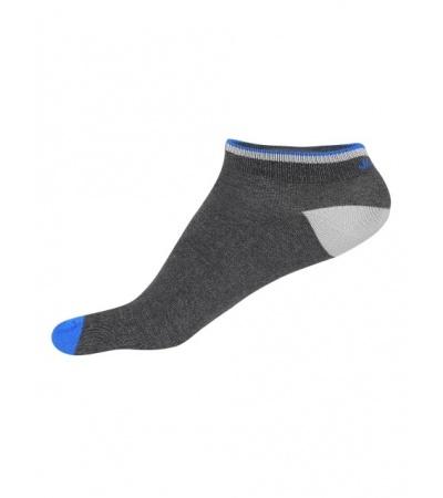 Jockey Charcoal Melange & Rich Royal Blue Men Low Show Socks