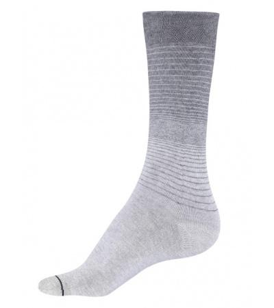 Jockey Grey Melange Men Formal Socks