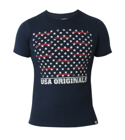 Jockey Navy Print Boys Printed T-Shirt