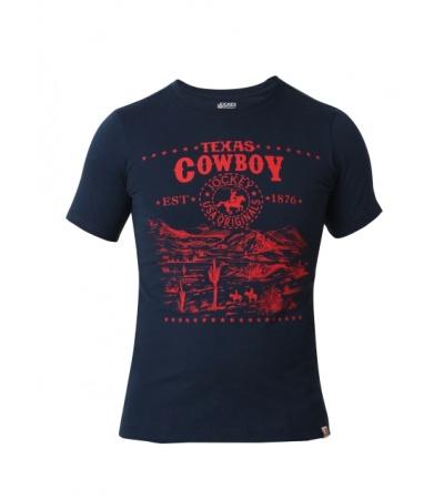 Jockey Navy Prints Boys Printed T-Shirt