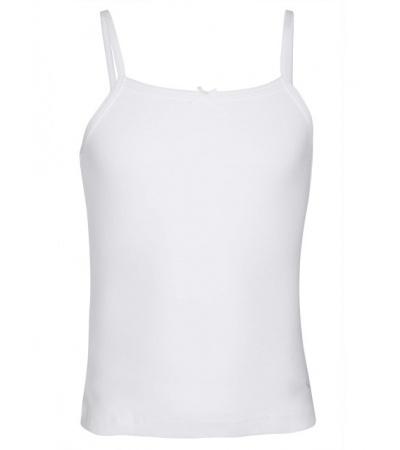 Jockey White Girls Camisole-White-9-10 Yrs