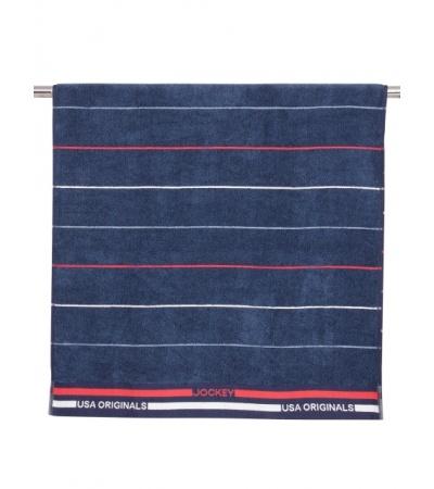 Jockey Ink Blue Grindle Bath Towel