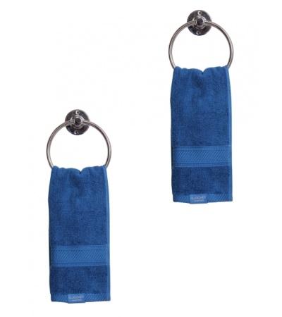 Jockey Mid Blue Hand Towel Pack of 2