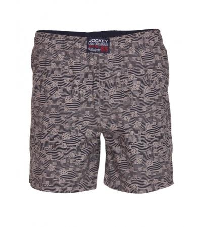 Jockey Grey Printed Boys Boxer Shorts