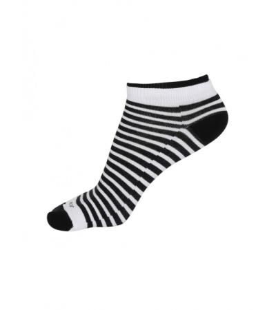 Jockey White & Black Women Low show socks Pack of 2