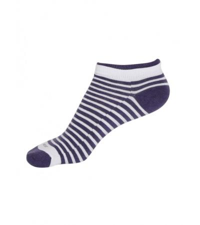 Jockey White & Heather Melange Women Low show socks Pack of 2