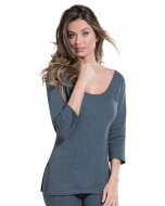 Thermal 3/4  Sleeve Top