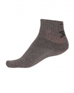 Jockey Charcoal Melange Men Ankle Socks