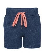 Jockey Blue Snow Melange Girls Shorts
