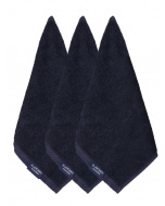 Jockey Navy Face Towel Pack of 3