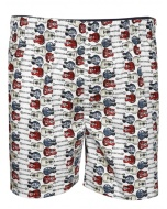 Jockey White Print Boys Boxer Shorts