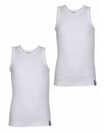 Jockey White Boys Vest Pack of 2