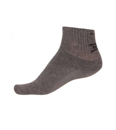 Jockey Charcoal Melange Men Ankle Socks