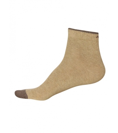 Jockey Khaki Melange Men Ankle Socks