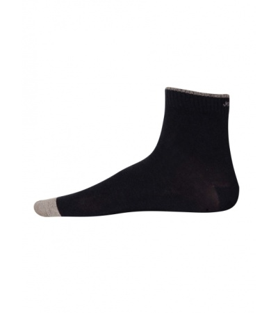 Jockey Navy Melange Men Ankle Socks
