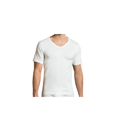 SLEEVED V-NECK UNDERSHIRT