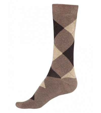 Jockey Brown Melange Men Casual Socks