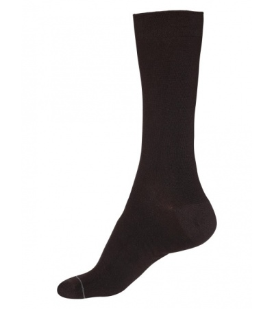 Jockey Dark Brown Men Formal Socks
