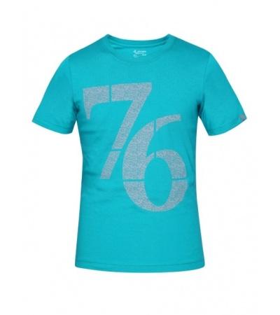 Jockey Deep Atlantis Print 24 Boys Printed T-Shirt-Ocean Blue-7-8 Yrs