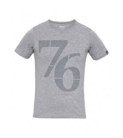 Jockey Grey Melange Print 24 Boys Printed T-Shirt