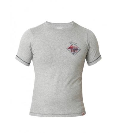Jockey Grey Melange Print24 Boys T-shirt
