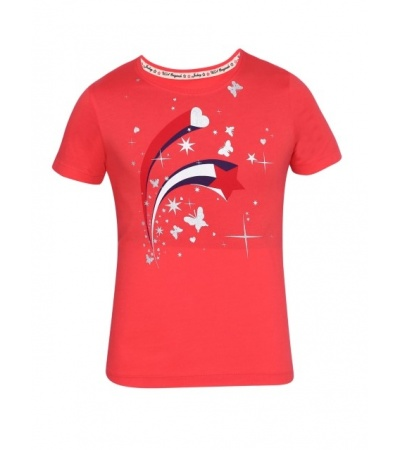 Jockey Hibiscus Girl's Graphic T-Shirt