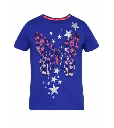 Jockey Indigo Crush Girl's Graphic T-Shirt