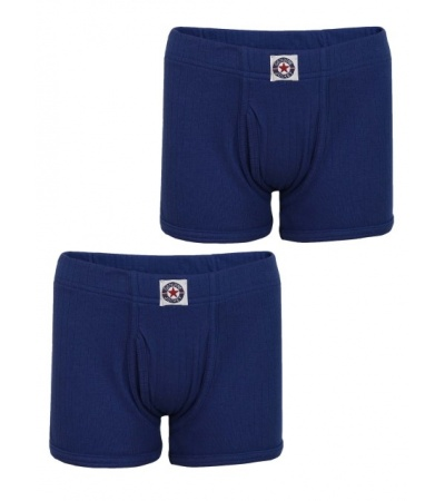 Jockey Mid Blue Boys Trunk Pack of 2