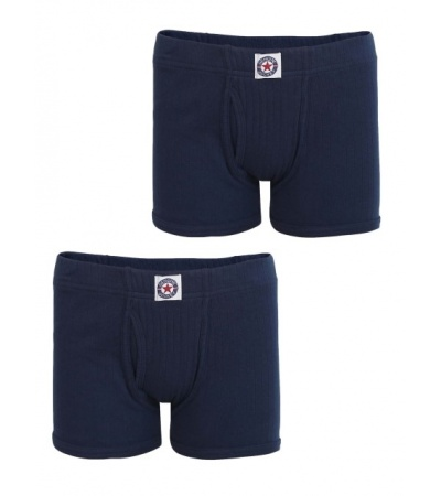 Jockey Navy Boys Trunk Pack of 2-Navy-9-10 Yrs