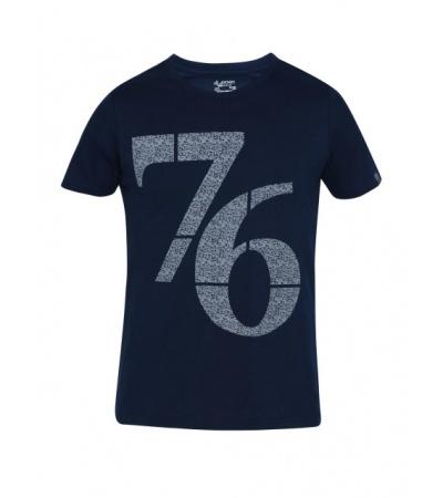 Jockey NAVY Print 24 Boys Printed T-Shirt-Navy-7-8 Yrs