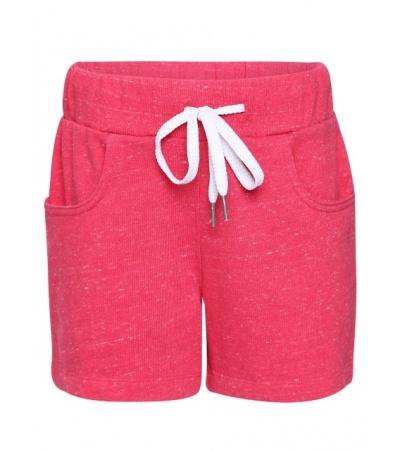 Jockey Ruby Snow Melange Girls Shorts-Ruby Snow-7-8 Yrs
