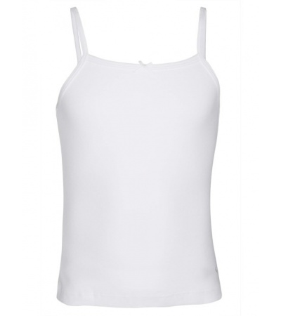Jockey White Girls Camisole-White-11-12 Yrs