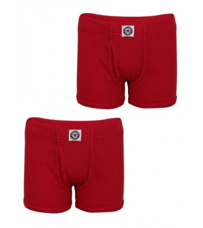 Jockey Shanghai Red Boys Trunk Pack of 2-Red-9-10 Yrs