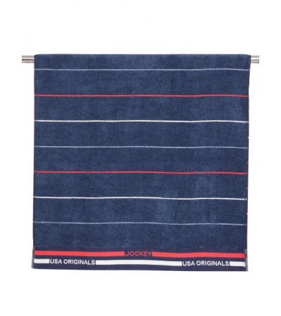 Jockey Ink Blue Grindle Bath Towel