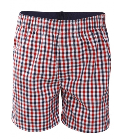 Jockey Assorted Checks Boys Boxer Shorts