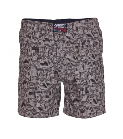 Jockey Grey Printed Boys Boxer Shorts