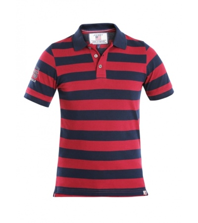 Jockey Navy & Deep Red Boys Half Sleeve POLO T-shirt