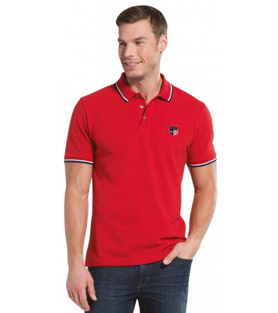 HALF-SLEEVE POLO