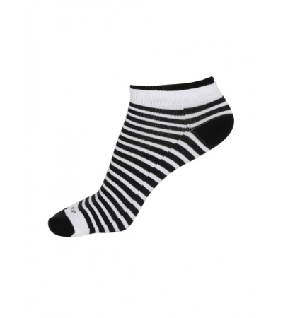 Jockey White & Black Women Low show socks Pack of 2